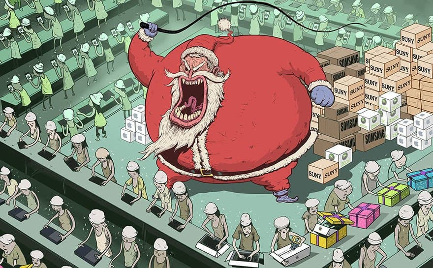 Christmas time takes advantage of Slave Labour