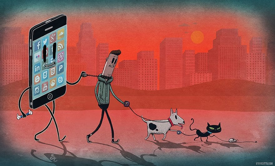 Slave to Our Smartphones