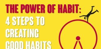 The Power of Habit – 4 Steps to Creating Good Habits