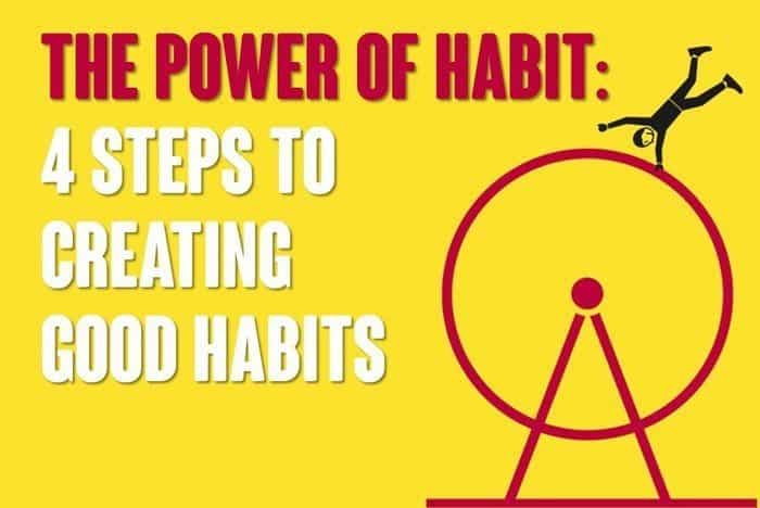 The Power of Habit: 4 Steps to Creating Good Habits
