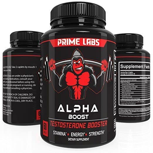 Alpha Boost - Best Testosterone Booster Supplements