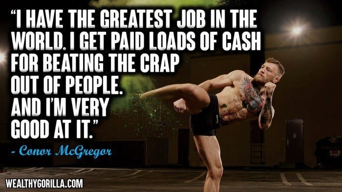 29 Motivational Conor McGregor Quotes On Success | Wealthy ...