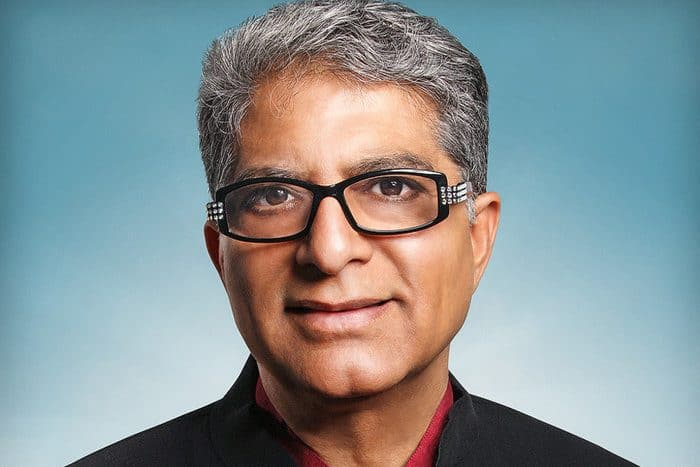 Deepak Chopra - Best Personal Development Authors