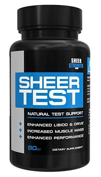 Sheer Test - Best Testosterone Booster Supplements