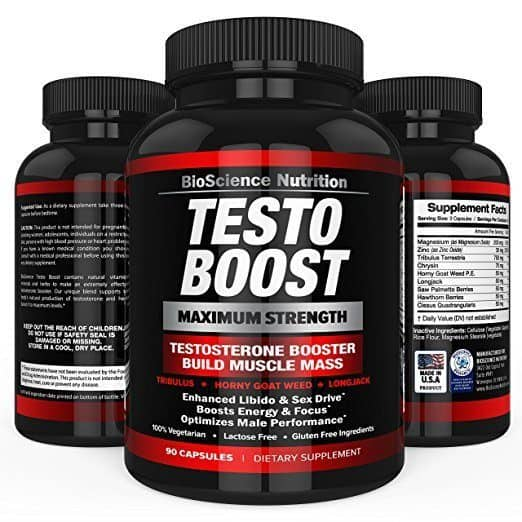 Testo Boost - Best Testosterone Booster Supplements