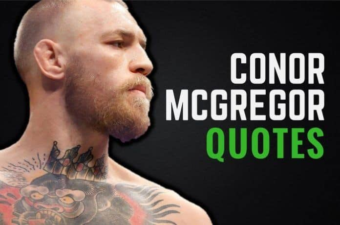 29 Motivational Conor McGregor Quotes On Success