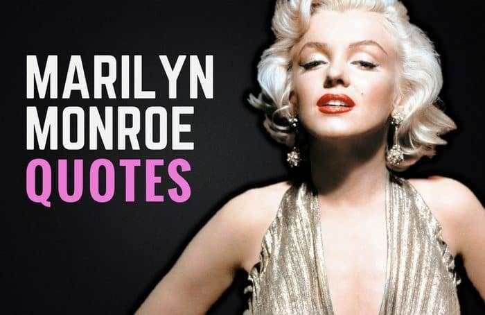 Marilyn Monroe New Years Quotes: 35 Inspiring Marilyn Monroe Quotes & Sayings
