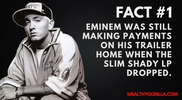 Eminem's Net Worth - 1st Eminem Fact