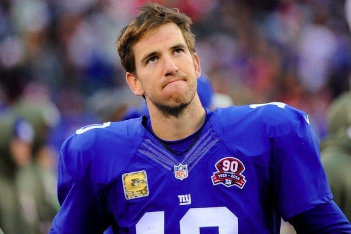 Highest Paid Athletes - Eli Manning