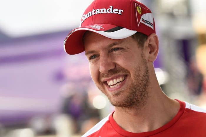 Highest Paid Athletes - Sebastian Vettel