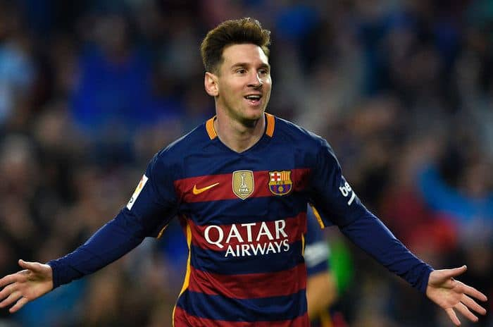Highest Paid Players - Lionel Messi
