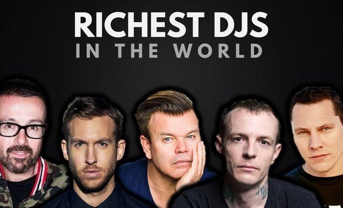 The Top 20 Richest DJ's in the World 2017