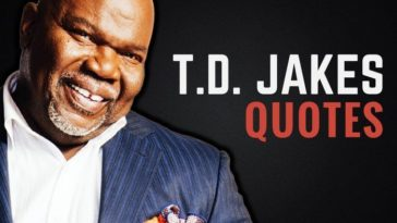 TD Jakes Quotes