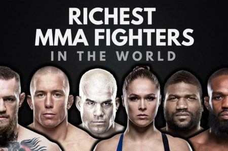 The Top 20 Richest MMA Fighters In World 2017