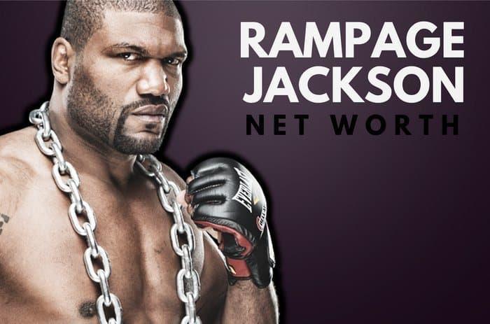 Quinton Rampage Jackson's Net Worth