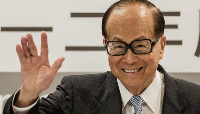 Richest People in Asia - Li-Ka Shing