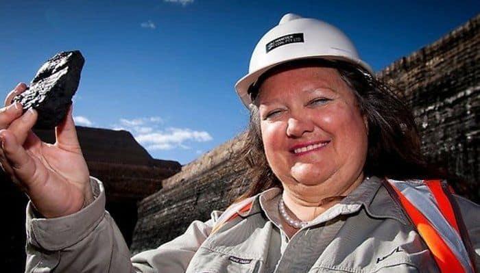 Richest People in Australia - Gina Rinehart