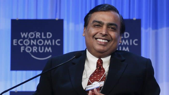 Richest People in India - Mukesh Ambani