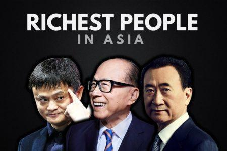 Man Asian richest