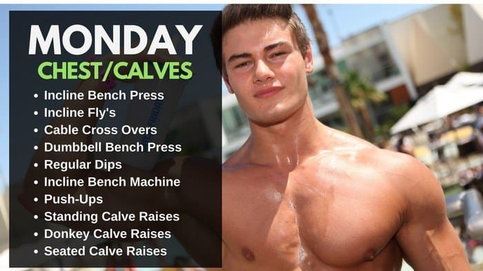 Jeff Seid Workout Routine - Chest