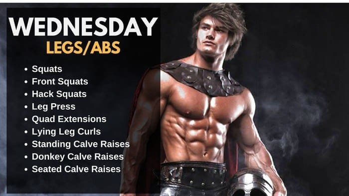 Jeff Seid Workout Routine - Legs