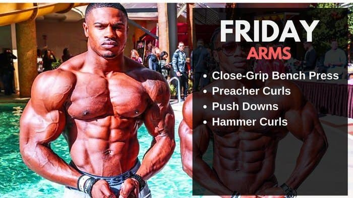 Simeon Panda Workout Routine - Arms