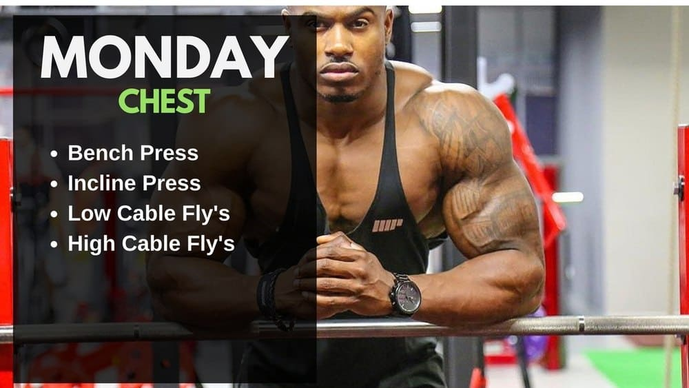 Simeon Panda Workout Routine - Chest