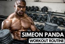 Simeon Panda's Workout Routine & Diet