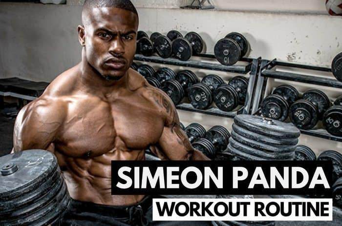 Simeon Panda's Workout Routine & Diet
