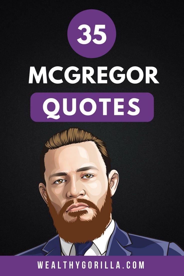 35 Conor McGregor Quotes 1