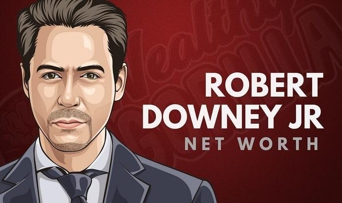 Robert Downey Jr's Net Worth