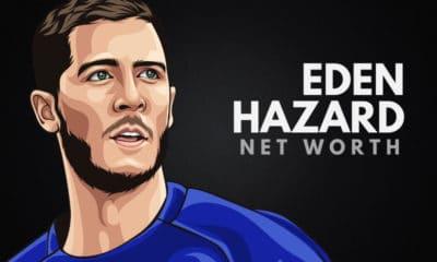 Eden Hazard's Net Worth