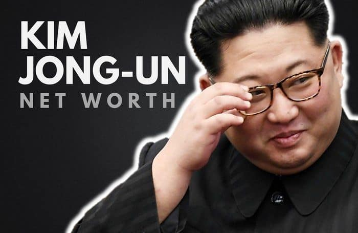 Kim Jong-Un's Net Worth