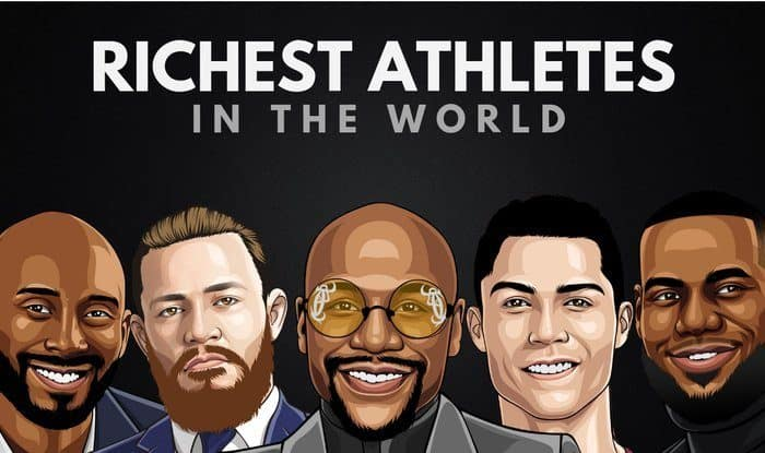 The Top 20 Richest Athletes in the World 2019 | Wealthy Gorilla