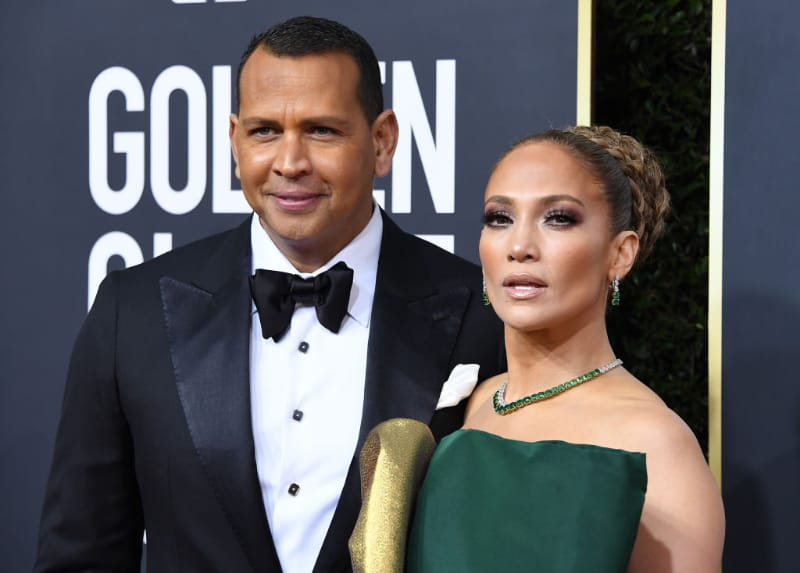 Richest Celebrity Couples - Alex Rodriguez & Jennifer Lopez
