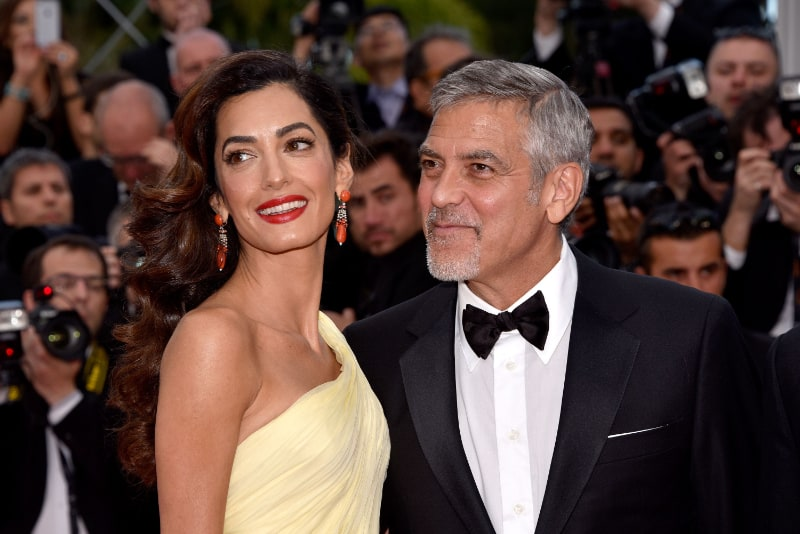 Richest Celebrity Couples - George Clooney and Amal Clooney