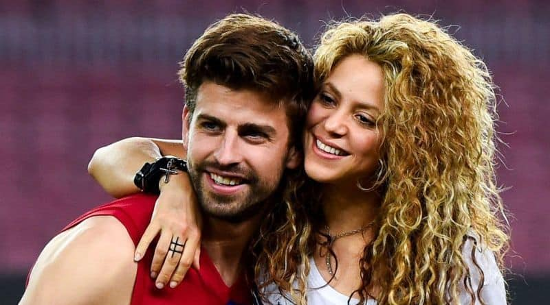 Richest Celebrity Couples - Gerard Pique & Shakira