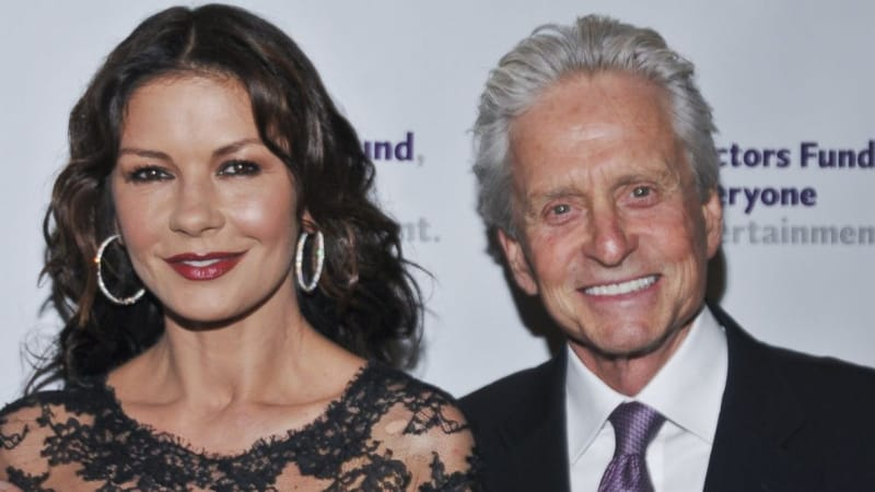 Richest Celebrity Couples - Michael Douglas & Catherine Zeta Jones