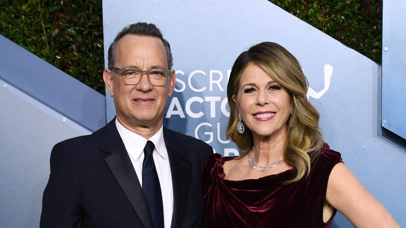 Richest Celebrity Couples - Tom Hanks & Rita Wilson