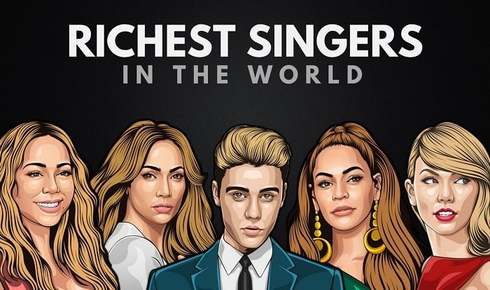 The 25 Richest Singers in the World 2019 | Wealthy Gorilla