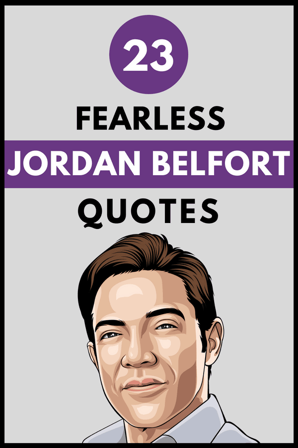 Jordan Belfort Quotes Pin 2