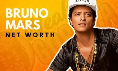 Bruno Mars' Net Worth