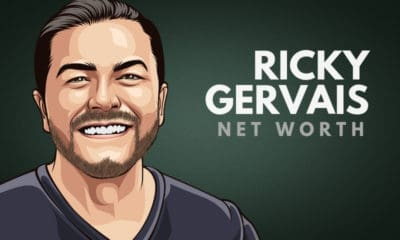Ricky Gervais' Net Worth