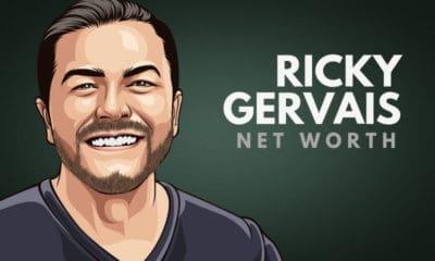 Ricky Gervais' Net Worth