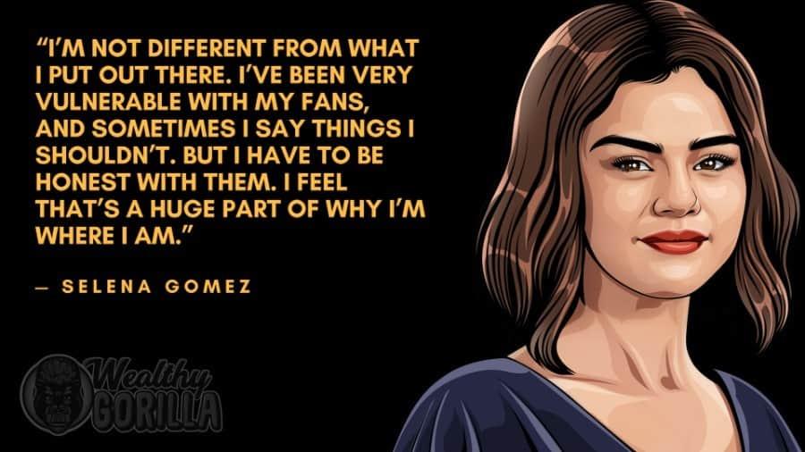 Selena Gomez Quotes 1
