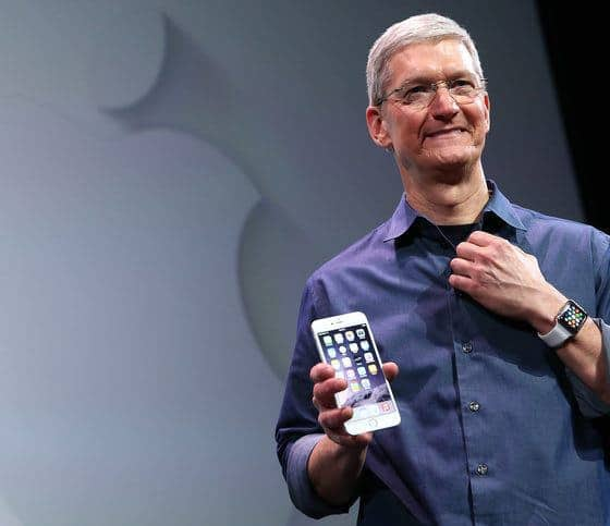 Apple CEO Tim Stock Donates $5 Million to Chairty