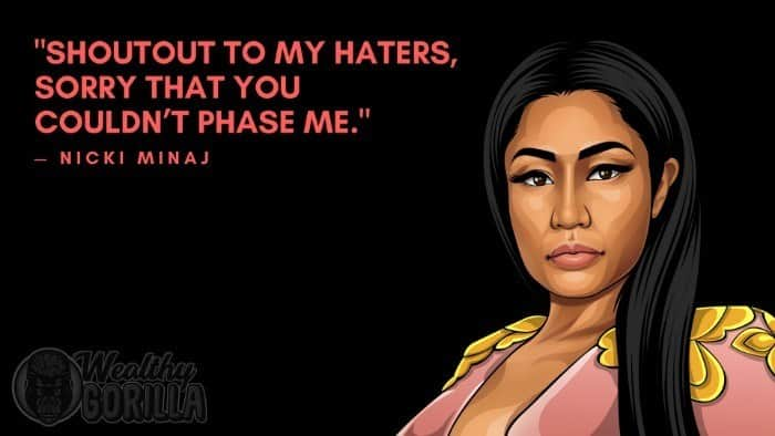 46 Strong & Inspirational Nicki Minaj Quotes (2019) | Wealthy Gorilla