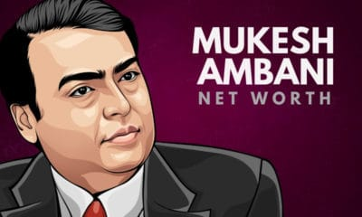 Mukesh Ambani's Net Worth
