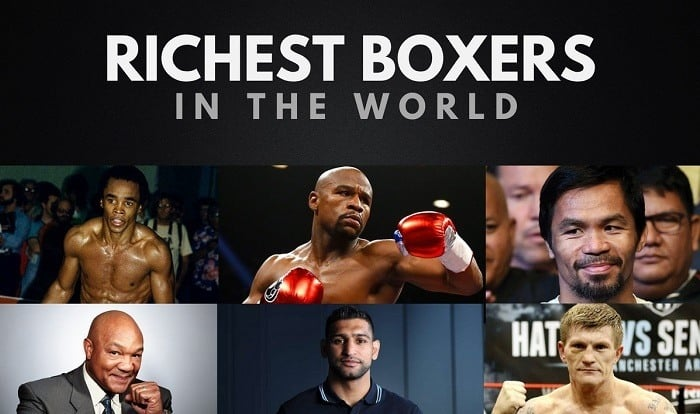 The Top 20 Richest Boxers in the World 2019 | Wealthy Gorilla