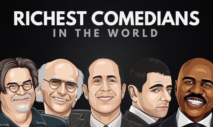 Richest Comedians in the World
